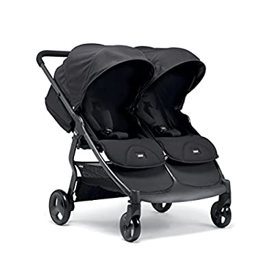 Mamas & Papas Armadillo Twin Pushchair - Black Jack  CBDFG