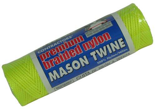 Lehigh Groupe 250ft. NO.18 jaune Nylon Mason ligne Twine BNT14Y6