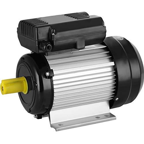 Mophorn Elektromotor einphasig 2.2KW 3HP Kondensatormotor 220V Single Phase Elektro Motor Luftdruck motor Druckluftkompressor (2.2KW) -