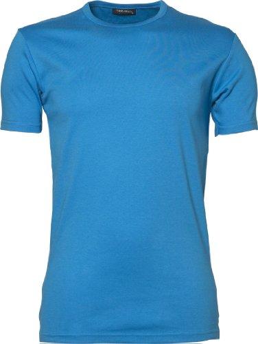 TJ520-2 Tee Jays 2er-Pack Herren Interlock Bodyfit T-Shirt (bis Größe 3XL) Azure