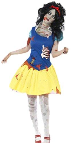 erdbeerloft - Damen Halloween Zombie Outfit, M, (Outfit Zombie Sexy)