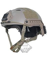Ajustable SWAT combate tipo PJ rápido casco de (M/L) para ejército estilo militar CQB Shooting táctico para Airsoft y Paintball