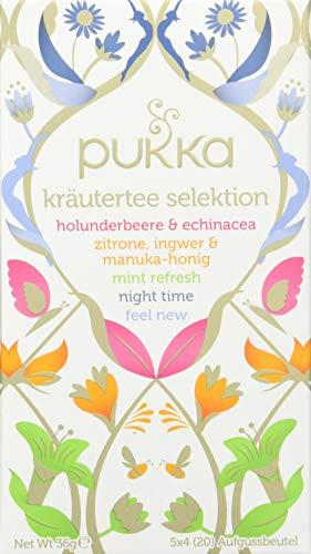 Ingwer Echinacea Tee (Pukka BIO Tee Kräuter Selektion 20 Teebeutel)