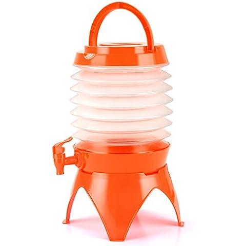 Vollter 5L acqua pieghevole per trasporto di container con Spegnimento