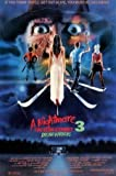 NIGHTMARE ON ELM STREET 3 - DREAM WARRIORS – Imported Movie Wall Poster Print – 30CM X 43CM Brand New FREDDY KRUEGER