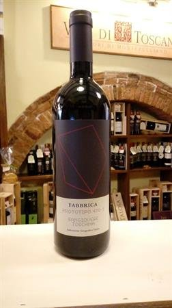 TOSCANA ROSSO IGT 2013 SANGIOVESE FABBRICA LT0,750
