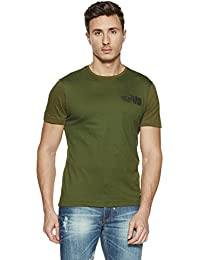 LP Jeans By Louis Philippe Men's Solid Slim Fit T-Shirt - B078HWDWJR