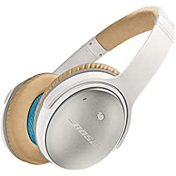 Casque Circum-aural à Réduction du Bruit Bose QuietComfort 25 - Apple - Blanc