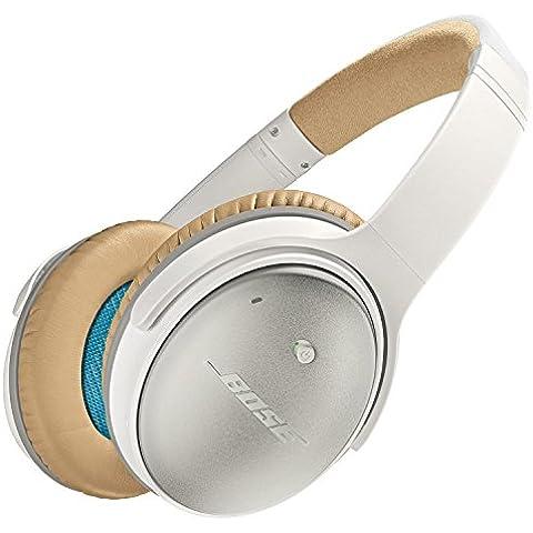Bose QuietComfort 25 - Auriculares de diadema cerrados (Con cancelación de ruido), blanco