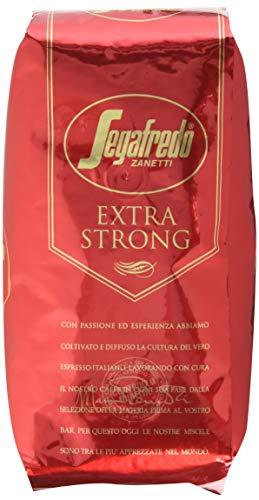 Segafredo Zanetti Kaffee Espresso - Extra Strong, 1000g Bohnen