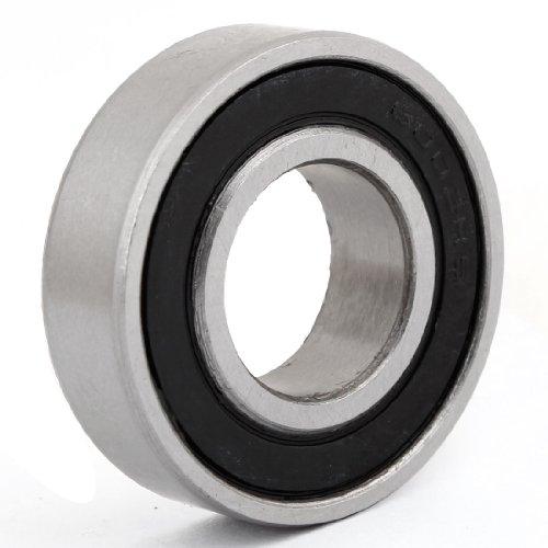 Preisvergleich Produktbild 15 mm versiegelt Deep Groove Ball Roller Bearing 15 mm x 32 mm x 9 mm schwarz
