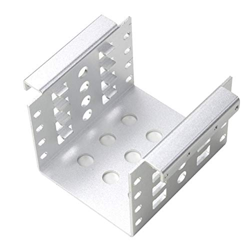 BeonJFx Festplatten-Adapter 6,3 cm auf 8,9 cm Silber