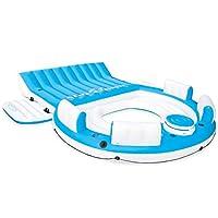 "Intex Splash 'N Chill, Inflatable Relaxation Island, 145""X125""X20"""
