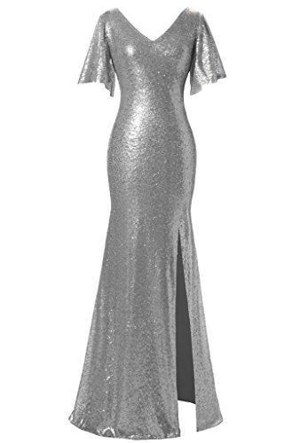 JYDress - Robe - Trapèze - Femme platine