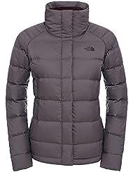 North Face W Kings Canyon Short Jacket - Chaqueta para mujer, color gris, talla M