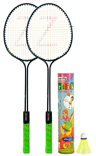 Klapp Zigma Badminton Set; Pack of Two Badminton Set with...
