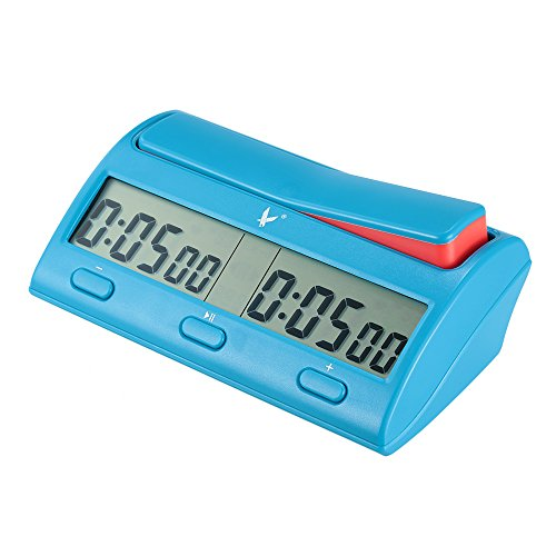 Reloj Digital Profesional de Ajedrez color Azul