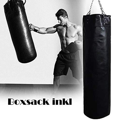 zaote Boxsack, Boxsack, Indoor und Outdoor Gym Heavy Duty Training Boxsäcke mit Sandsackkette, leerer Sandsack Good