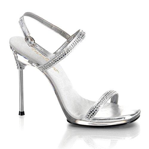 Heels-Perfect, Sandali donna Argento argento Argento (argento)