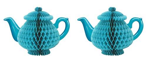 Beistle Alice im Wunderland Teekanne, Mittelstück Tissue Teapot Centerpiece ()