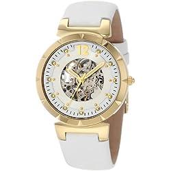 Carlo Monti Ladies Automatic Watch, IP Gold CM800-208