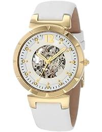 Carlo Monti Armbanduhr für Damen mit Analog Anzeige, Automatik-Uhr und Lederarmband - Wasserdichte Damenuhr mit zeitlosem, schickem Design - klassische, elegante Uhr für Frauen - CM800-208 Savona