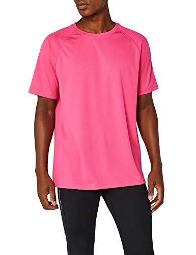 Fruit of the Loom Herren Performance T-Shirt, Rosa (Fuchsia), Gr. Medium