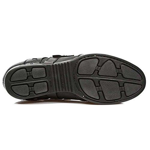 New Rock Hybrid Schwarz Schuhe M.HY028-S1 Black