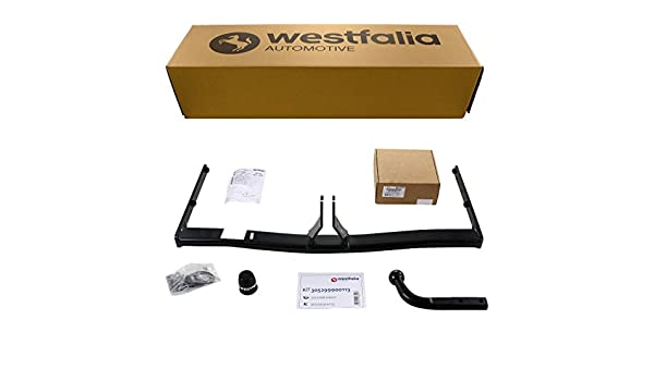 Starre Westfalia Anh/ängerkupplung f/ür A3 Sportback 5-T/ürer im Set mit 13-poligem fahrzeugspezifischen Westfalia Elektrosatz BJ 09//2004-01//2013