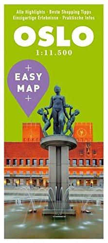 EASY MAP Oslo: 1:11.500 (KUNTH EASY MAP)