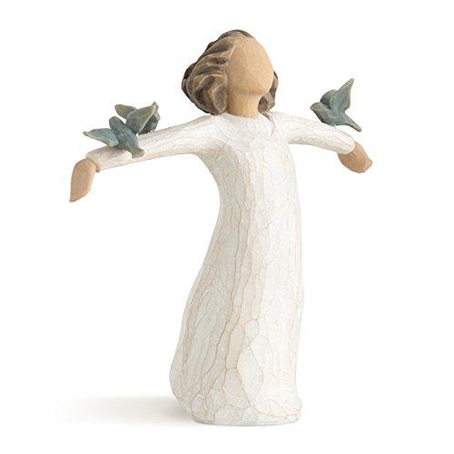 Willow Tree 26130 Figur Susan Lordi, Zufriedenheit, Glück, Fröhlichkeit