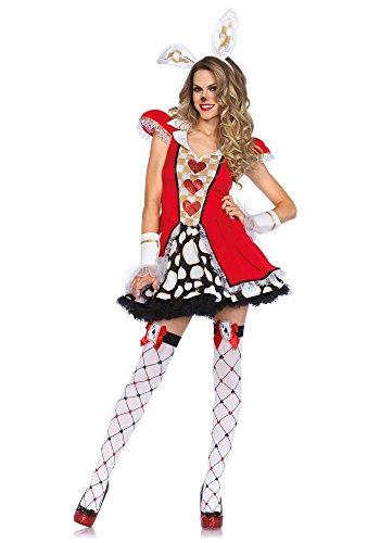 Leg Avenue 85447 - Tick Tock White Rabbit Kostüm, Größe M/L (EUR (Tick Kostüm Das Halloween)