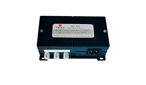 TRIAX ALF 202 Alimentation r/égul/ée 24V 2 sorties TV