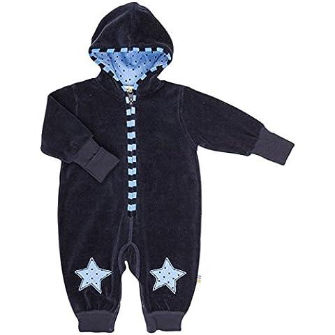 JOHA - Bebé Niña Niño Traje de Nicki con capucha MORNING STAR - con estrellas