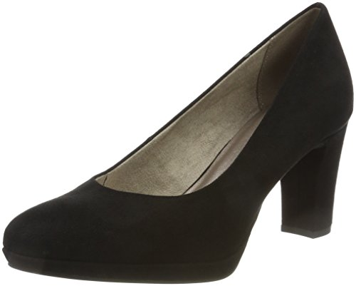 Tamaris Damen 22420 Pumps, Schwarz, 38 EU