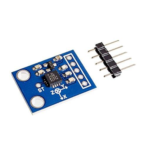 Dosige GY-61 ADXL335 Modul Winkel Sensor Modul Neigungswinkel Modul für Arduino Raspberry Pi - 4 Unzen-raspberry
