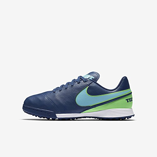 Nike 819191-443, Chaussures de Football Mixte Adulte Bleu