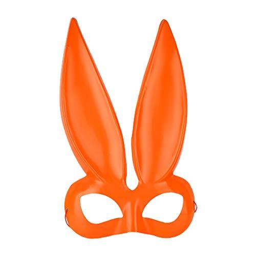 Foroner Frauen Kaninchen Maske Kostüm Zubehör Maske Damen Maskerade Kaninchen Maske - Gruselige Kaninchen Kostüm