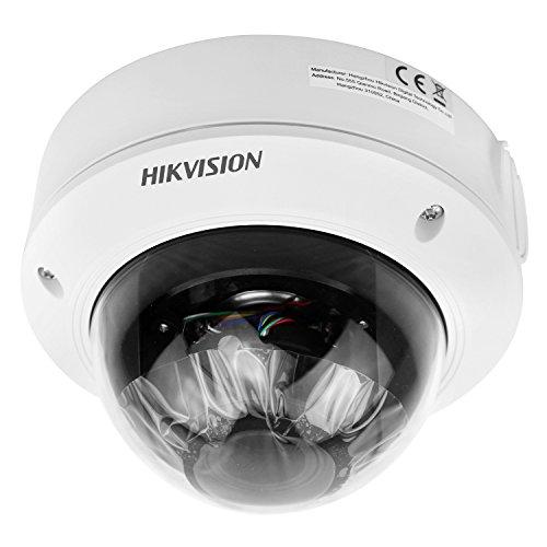 HIKVISION DS-2CD1741FWD-IZ 4.0 MP Innen IP Kamera mit IR-Schnitt Zoom 128(Tag Nacht Bewegungserkennung PoE Dual - Stream Fernzugriff Wasserfest)