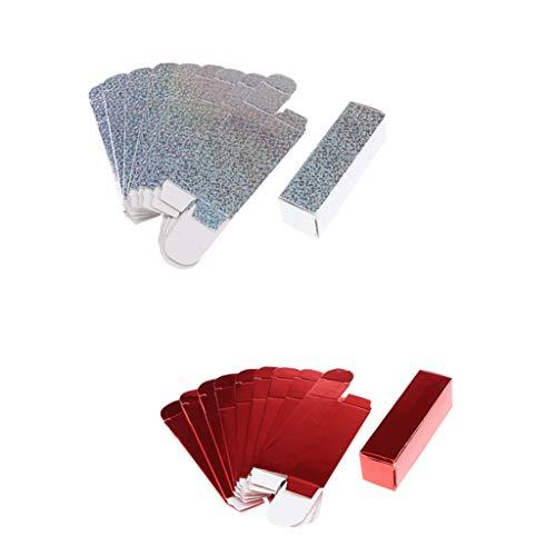 Fenteer 20er Pack Lippenstift Verpackung Papier Kasten
