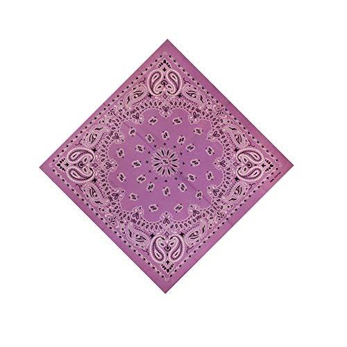 ch Halstuch Nickituch Biker Tuch Motorad Tuch verschied Farben Paisley Muster als Halstuch, Taschen, Hunde und Mode-Accessoires 100% Baumwolle(Einheitsgröße,V) ()