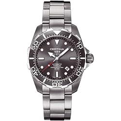 Certina Men's Watch XL Analogue Automatic Titanium c013.407.44.081.00