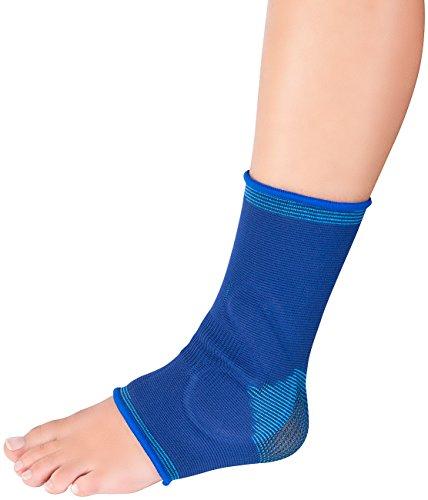 Speeron Sportbandage für Fuß: Knöchelbandage mit Gel-Kissen, unisex, Größe M - L (Knöchel-Bandage mit Gel-Kissen)