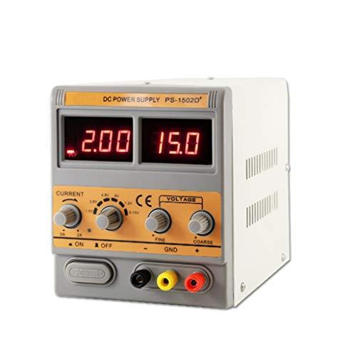 Geregelte Gleichstromversorgung 15V2A Adjustable mit HF-Signalerfassung und Wartung Stromversorgung, 3-stelliges Display Stromversorgung for DC Geräte Stromversorgung und Laborgeräte Wartung