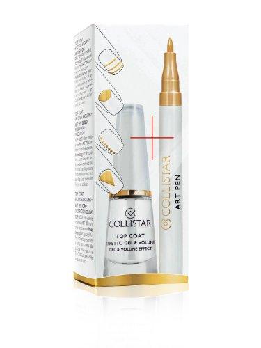 COLLISTAR Top Coat Effet Gel & Volume Art Pen Décoration Ongles Or
