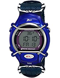 Zoop Digital Grey Dial Children's Watch -NKC3001PV02