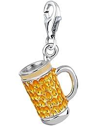 Nena Lina Charm en plata de ley 925colgante de cerveza maaß ajuste todas las marcas Charm 714085001