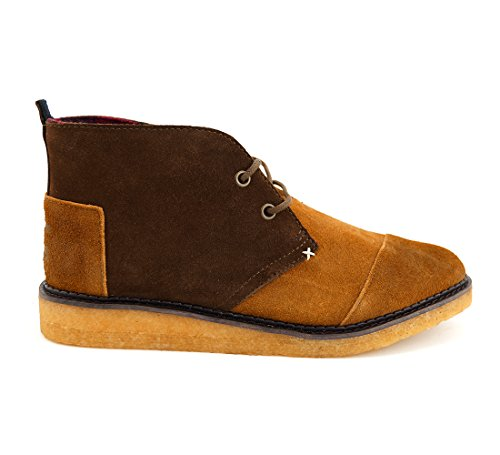 TOMS, Stivali uomo nero nero Various, marrone (Brown / Chestnut / Oiled Suede (Braun)), 42