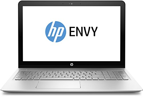 HP Envy (15-as105ng) 39,6 cm (15,6 Zoll / Ultra HD IPS) Notebook (Laptop mit: Intel Core i7-7500U, 128 GB SSD, 1TB HDD, 8 GB RAM, Intel HD Graphics, Windows 10 Home) silber