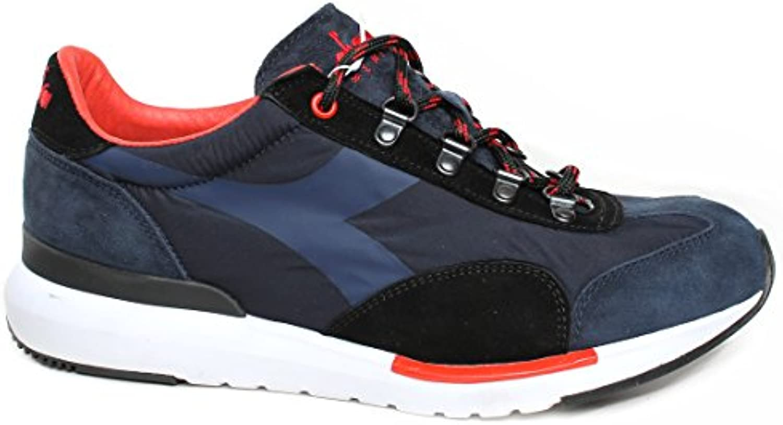 Diadora Heritage scarpe da da da ginnastica Uomo, MOD. Equipe Evo, Art. 17253460063, Tomaia in Suede e Mesh Blu. | Tatto Comodo  32c3ad